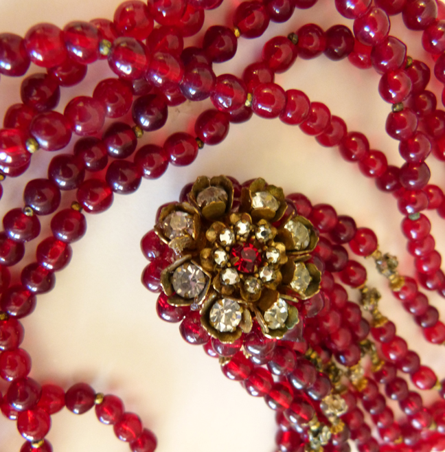 glass uk classic red gold beaded murano beads making for necklace jema jewelry