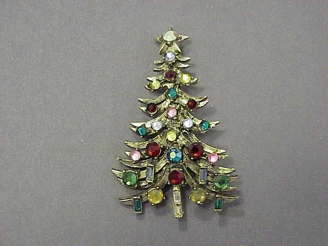 Christmas Tree Pins Morning Glory