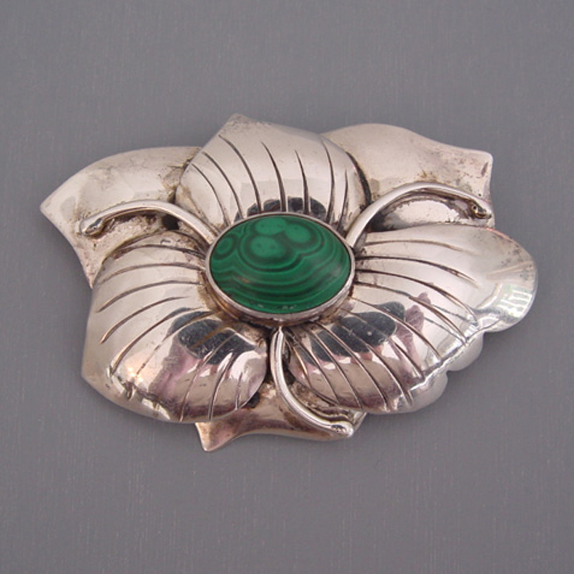 Carol Felley Is A New Mexico Jewelry Maker And Her Mark On The Back Of Brooch Along With Date 88