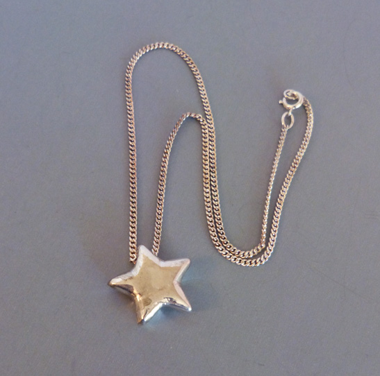 The Pendant Is Marked On One Side Sterling Dionne And Chain Clasp
