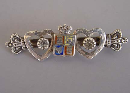 View V28806 Victorian Sterling Hallmarked And Maker S Mark