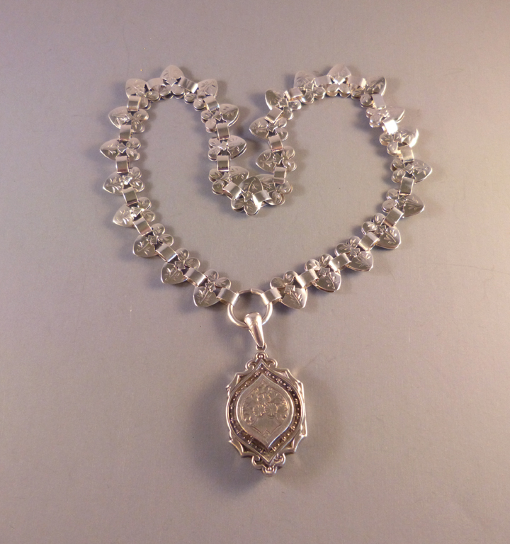 inch image astley with moonstone by clarke jewellery pendant in locket on silver chain lockets large