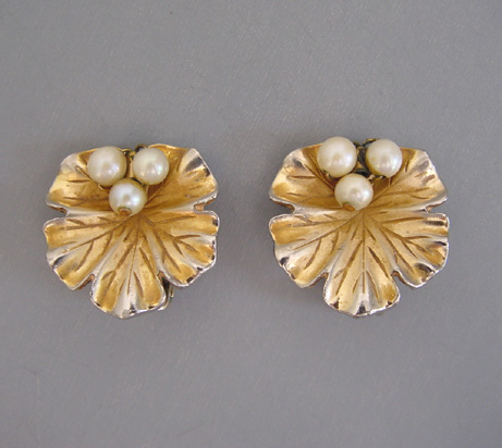 lily ivory calla pearls other earrings i in new gold matte cream swarovski